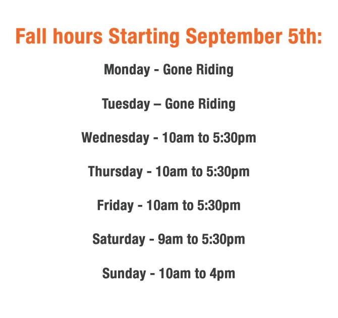 Fall hours
