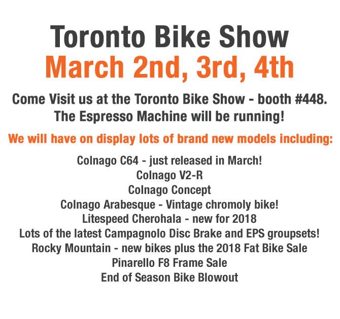 Toronto Bike Show