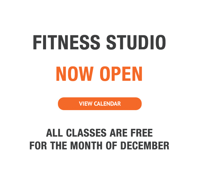 Fitness Studio Now Open